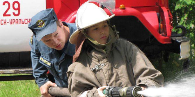 """Экскурсия """"Я в пожарные пойду"""""""