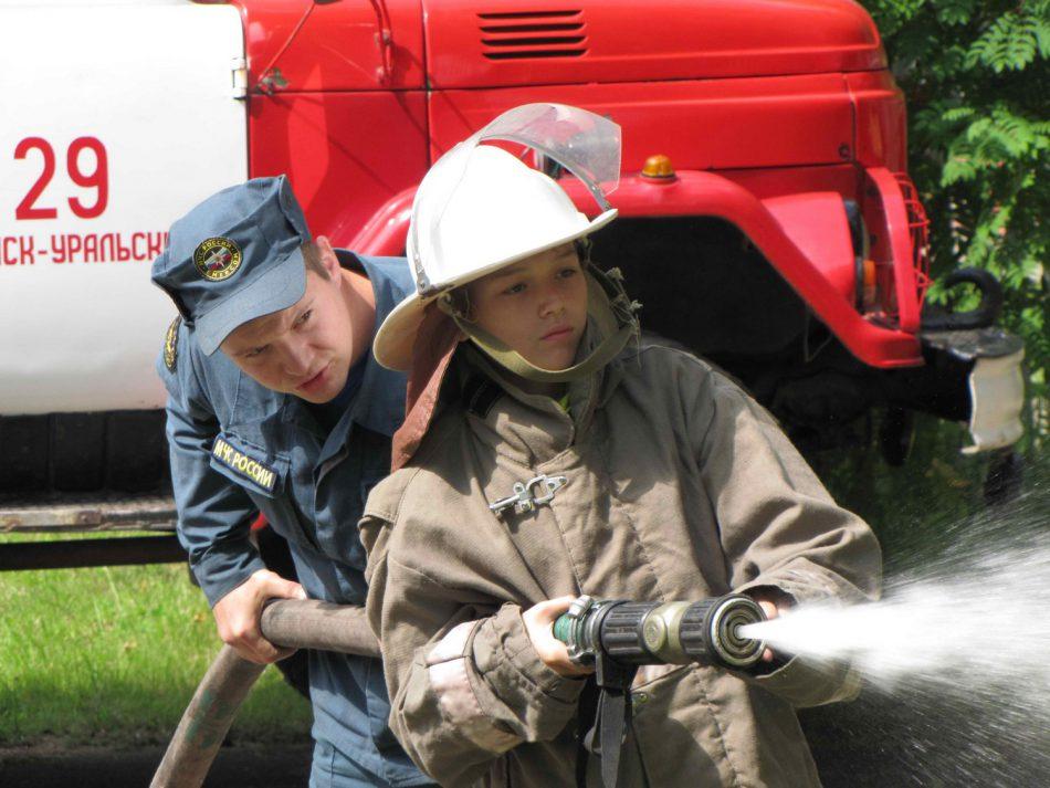 Экскурсия «Я в пожарные пойду»