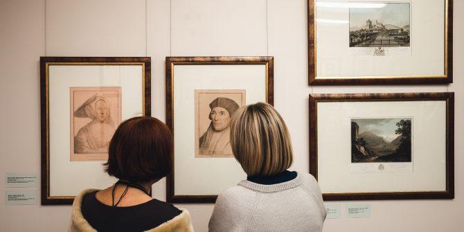 Открытие выставки гравюр
