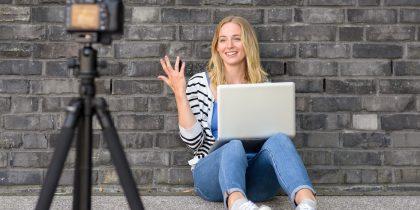 """Лекция """"Как стать блогером и заработать"""""""