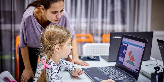 Открытие детского IT-пространства
