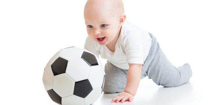 Забеги с мячом среди детей