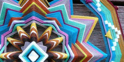 Мастер-класс по плетению Мандалы