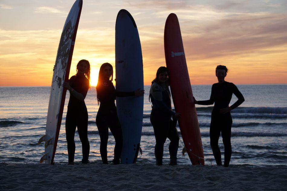 Уроки серфинга в Зеленоградске