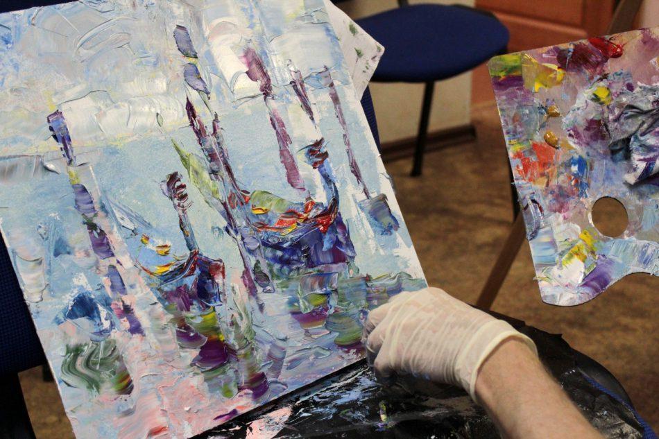 Бесплатный художественный мастер-класс