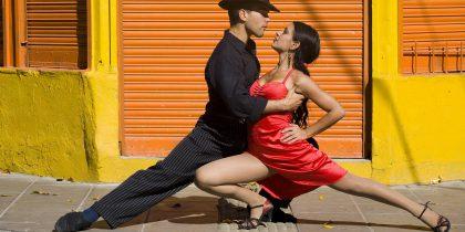 Урок по аргентинскому танго