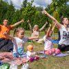 Йога в парке с Йога-Юнити