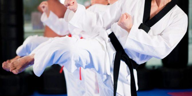 Открытая тренировка по тхэквондо