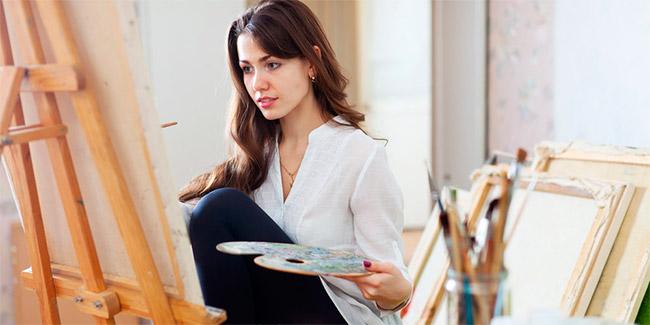 Открытое занятие по живописи для детей 10-15 лет