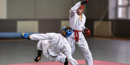 Соревнование по рукопашному бою