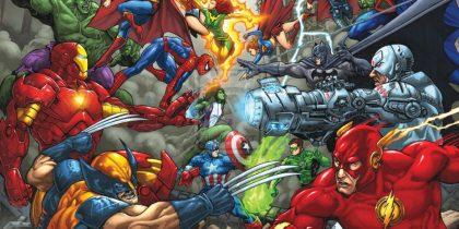 Новогодний комикс-ринг