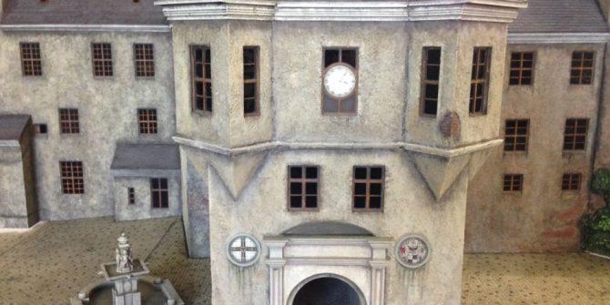 Открытие макета Королевского замка