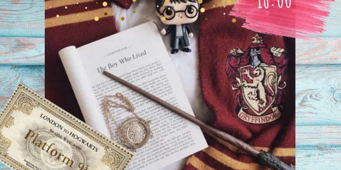 """Детская арт-вечеринка """"Гарри Поттер"""""""