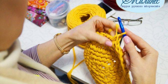 Вязание крючком и спицами (мастер-классы)