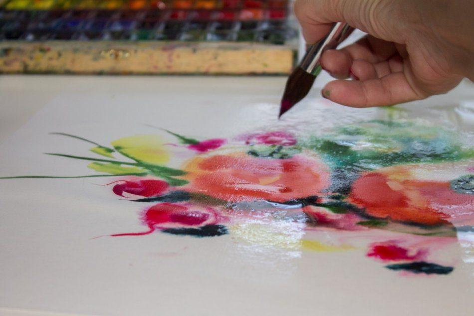Живопись акварелью и маслом (мастер-класс)