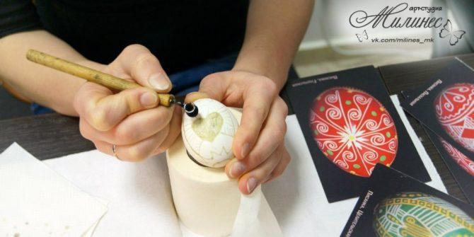 Роспись яиц - Писанка (мастер-класс)