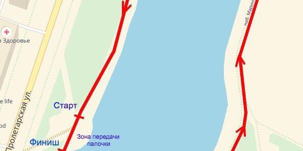 Набережная Нижнего озера