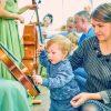 Концерт для детей с родителями