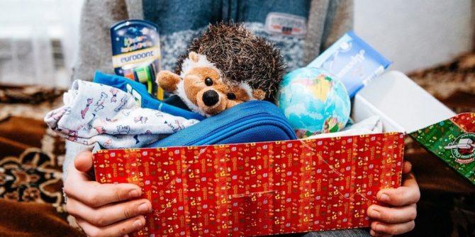 Благотворительная акция: Новый год в обувной коробке